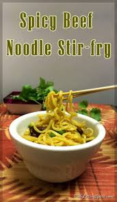 spicy beef noodle stir fry without msg my space