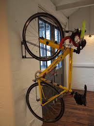 bikes bike wall mount apartment apartment bike storage diy