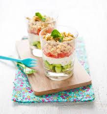 recette cuisine été crumble estival tomate concombre en verrines recette crumble