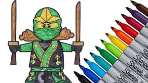 lego ninjago coloring page 2016 new hd video for kids youtube