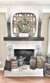 decor for fireplace white brick wall texture interior background design ideas and