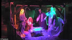 ohio ordered to take his themed nativity or