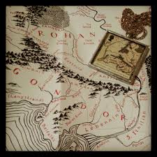 Lotr Map Lord Of The Rings Chachic U0027s Book Nook