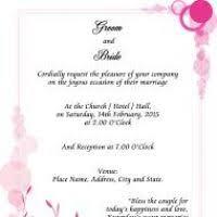 Wedding Invite Verbiage Wedding Invite Sample Justsingit Com