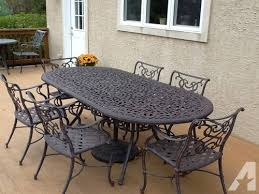 Iron Outdoor Patio Furniture Interesting Cast Iron Bistro Table And Chairs With New Cast Iron