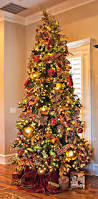 home in the making create white and gold christmas tree red green