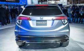Honda Urban The Honda Urban Suv Concept Showcased At The Detroit Auto Show