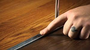 Installing Laminate Flooring On Concrete How To Install T Molding In Laminate Flooring Working On