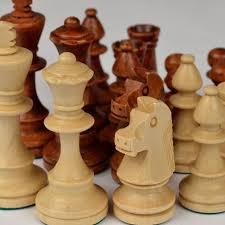 amazon com staunton no 4 tournament chess pieces w wood box by