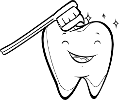 tooth coloring pages u2013 coloring pages