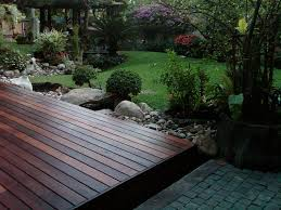 floor extraordinary style of ground level deck for amazing
