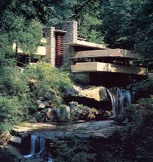 Frank Lloyd Wright Falling Water Interior Big House Tour Fallingwater