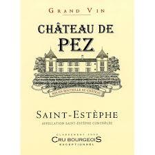 learn about st estephe bordeaux chateau de pez 2014 wine