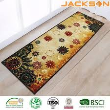Kitchen Runner Rugs Washable Hot Selling Cheap Anti Slip Long Pile Kitchen Runner Rug Washable