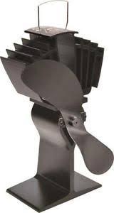 ecofan wood stove fan new caframo 812amxbx ecofan black airmax heat powered wood stove fan