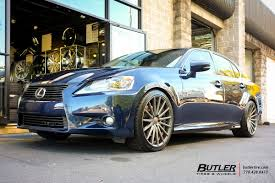 lexus vossen wheels lexus gs with 20in vossen vfs2 wheels exclusively from butler
