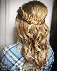 cute hairstyles gallery prom hairstyles for short hair half up cute formal down plait medium