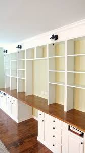 Built In Desk Cabinets Built In Shelving Paint Builtin Desk Cabinets White Home Is Where