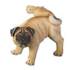 pug statue ebay