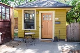 tiny house charming studio apartment in a tiny backyard house
