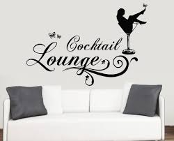 cocktail lounge design wall art vinyl stickers glass wine transfer cocktail lounge design wall art vinyl stickers glass wine transfer mural decal