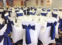 wedding seat covers wedding chair covers business in bradford ambience venue styling