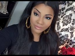 weave hairstyles with middle part middle part quick weave install youtube