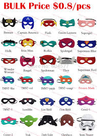 aliexpress com buy 170 styles superhero masks kids birthday