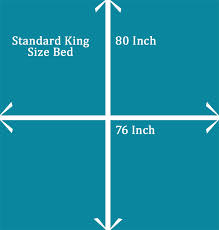 Length Of King Size Bed How Big Is A King Size Bed And Mattress Bestmattressesreviews