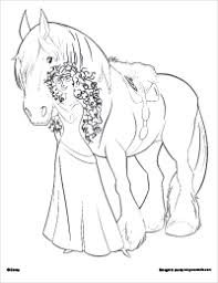Story Of A Courageous Girl Brave 22 Brave Coloring Pages Free Disney Brave Coloring Pages