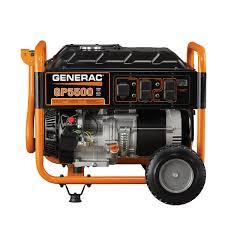 generac 5939 5500 watt gasoline powered portable generator 49