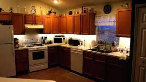 under counter led kitchen lights battery battery operated led kitchen lights lighting delectable led strip
