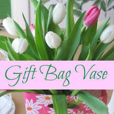 Bag Vase Gift Bag Vase For Flowers And Other Unusual Flower Vases Crafts