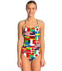 One Piece Flags Arena Women U0027s Flags One Piece Swimsuit At Swimoutlet Com Free