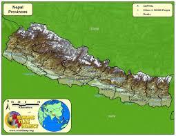 Nepal World Map Nepal Worldmap Org