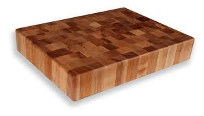michigan maple block end grain chopping block 15