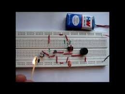 fire alarm project using thermistor and ic 555 youtube