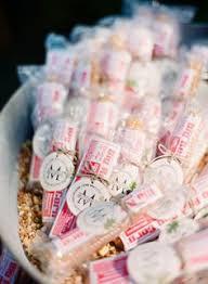 popcorn favor bags santa barbara wedding by lavender twine popcorn favors favor