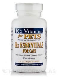 essentials for pets cats powder 4 oz 113 4 grams