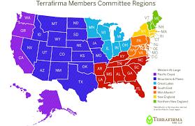 Us Regions Map Terrafirma