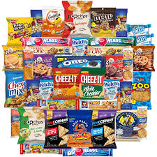 food care packages cookies chips candies snacks variety pack bulk sler