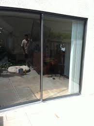 Patio Door Glass Repair Glass Repair Fogged Sliding Door Repaired Before After Photos