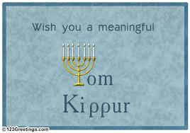 yom jippur a meaningful yom kippur free yom kippur ecards greeting cards
