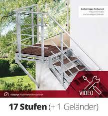 B Otische G Stig Kaufen Außentreppen Aus Stahl Hier Als Bausatz Günstig Kaufen