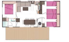 mobile home 3 chambres mobil home univers 6 personnes 3 chambres 1 salle de bains