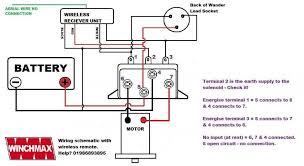 winch motor wiring diagram winch wiring diagrams