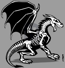 how to draw a dragon skeleton dragon skeleton step by step by