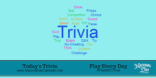 today s today s trivia national day calendar
