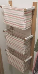 Diy Bathroom Storage by Best 20 Hanging Storage Ideas On Pinterest Bathroom Wall