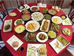 Dining Table With Food Dining And Business In China 饭局 Learn Business